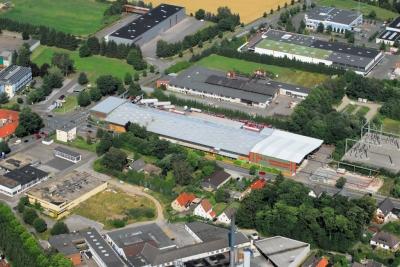Luftbild T.K.A. Intertrans GmbH Standort Lage